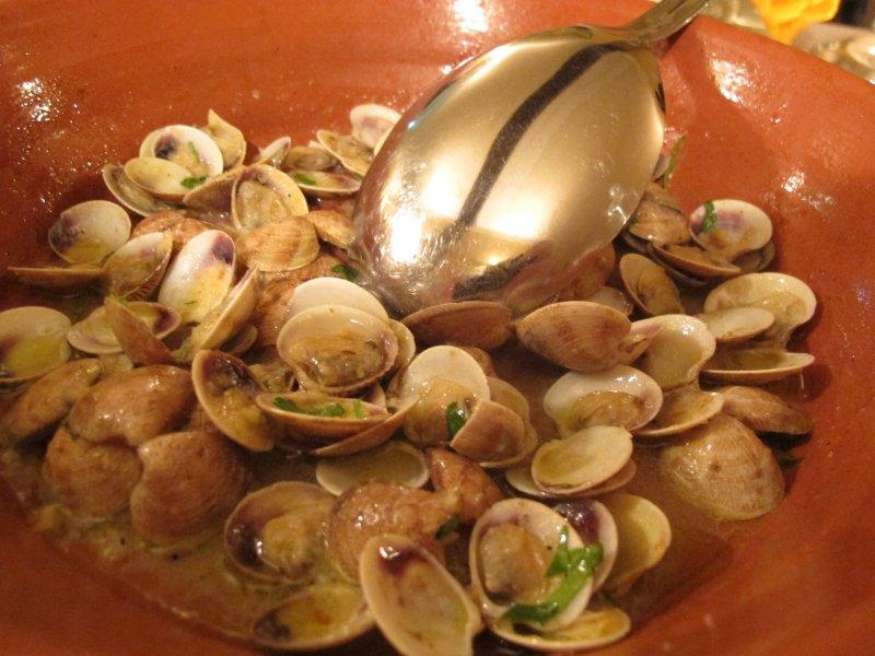 Sautè di vongole, Da Nadia, Chef Nadia Vincenzi, Castrezzato, Brescia