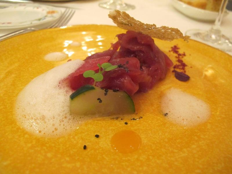 prosciutto di tonno e melone, Pascucci al porticciolo, Chef Gianfranco Pascucci, Fiumicino, Roma
