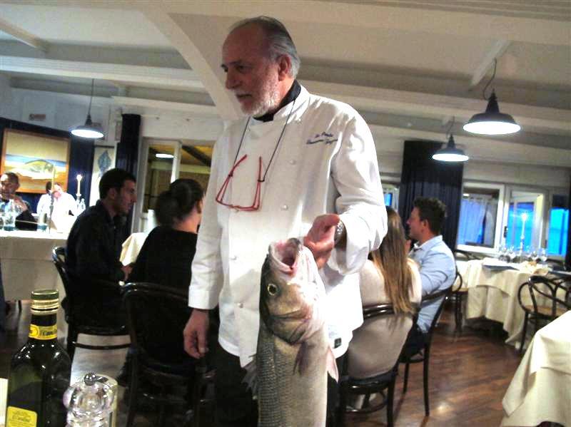 La Pineta, chef Luciano Zazzeri, Marina di Bibbona-