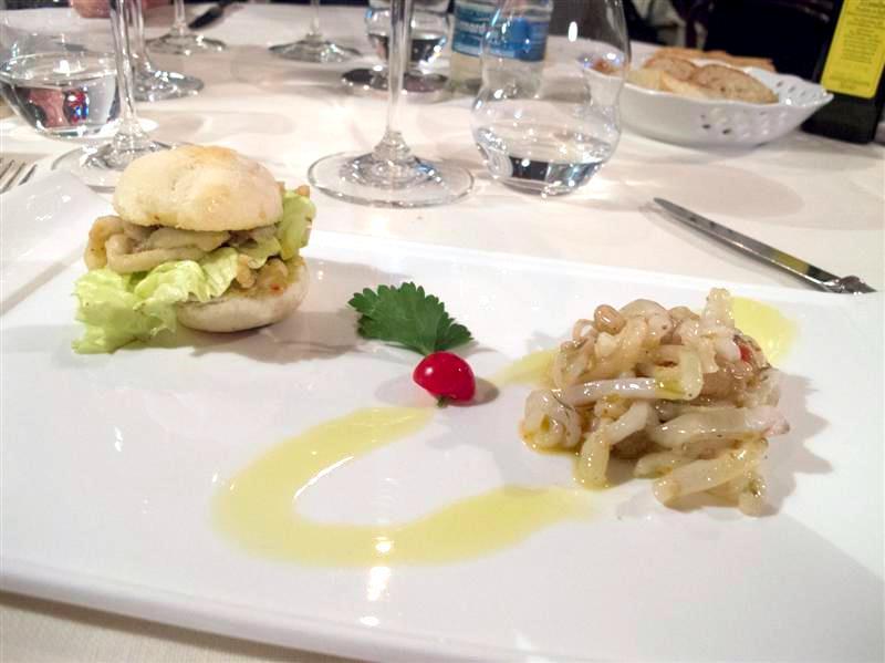trippa di mare, La Pineta, chef Luciano Zazzeri, Marina di Bibbona-