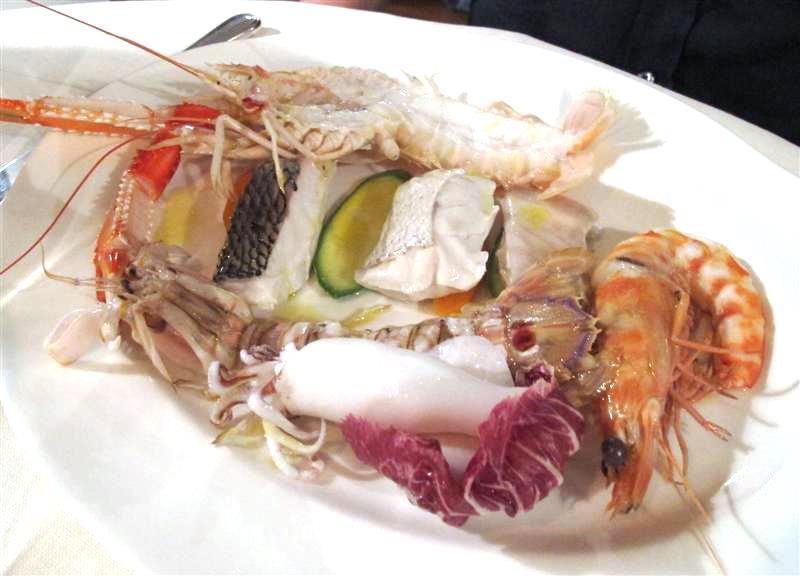 bollito di pesce, La Pineta, chef Luciano Zazzeri, Marina di Bibbona-