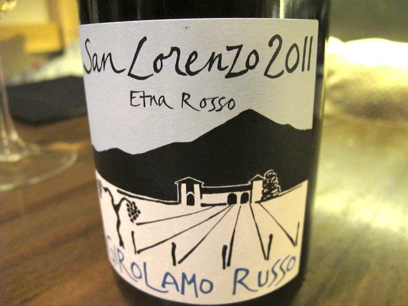 etna rosso, vino, Ristorante Settembrini, Chef Delmonte, Roma