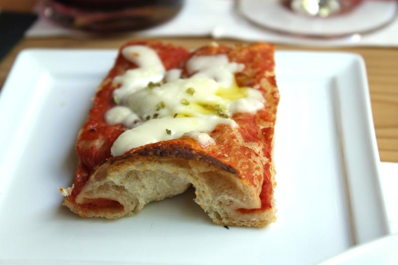 pizza al trancio, I Tigli, Chef Simone Padoan, San Bonifacio, Verona