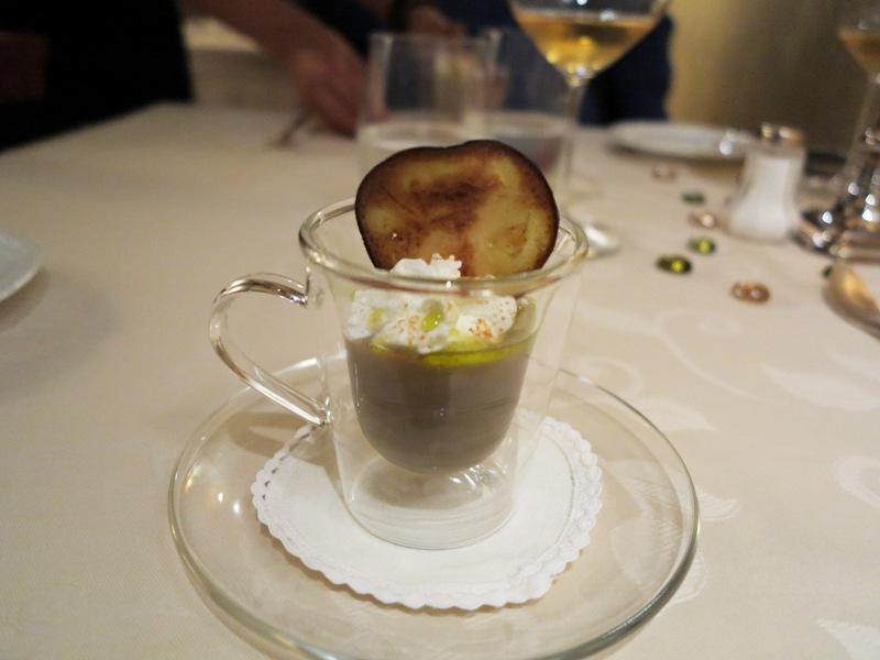 crema tiepida di melanzane, Tano passami l'olio, Chef Tano Simonato, Milano