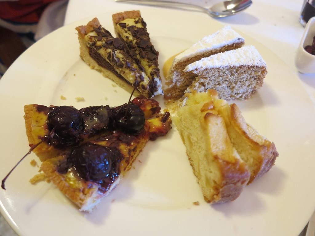 selezione di torte, Blupum, Chef Barbara Scabin, Ivrea, Torino