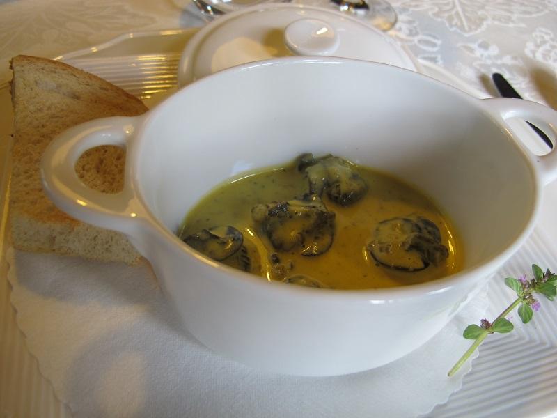 lumache, Casin del Gamba, Chef Antonio Dal Lago, Altissimo, Vicenza