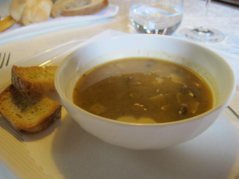 zuppa di funghi misti, Casin del Gamba, Chef Antonio Dal Lago, Altissimo, Vicenza
