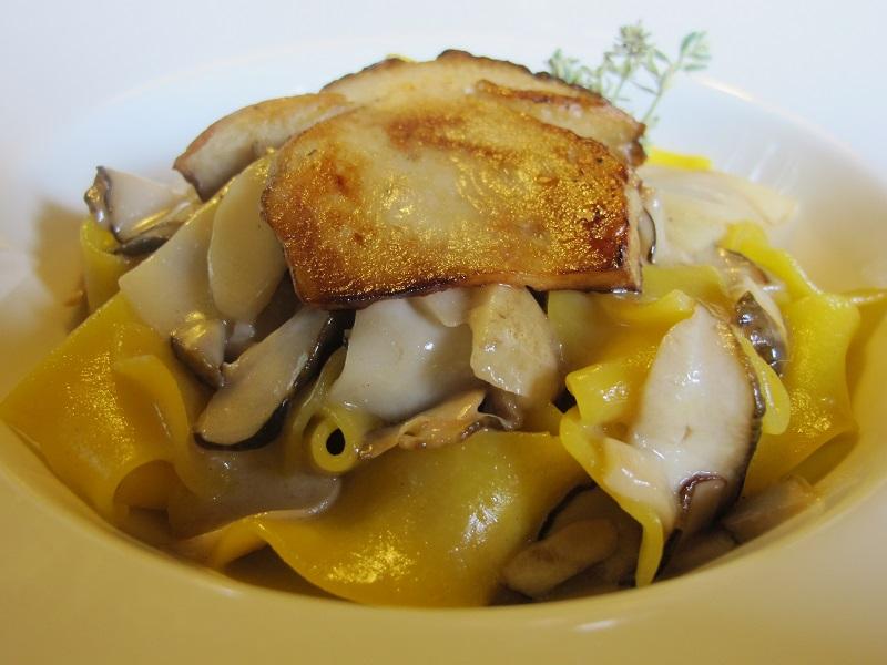 pappardelle, Casin del Gamba, Chef Antonio Dal Lago, Altissimo, Vicenza