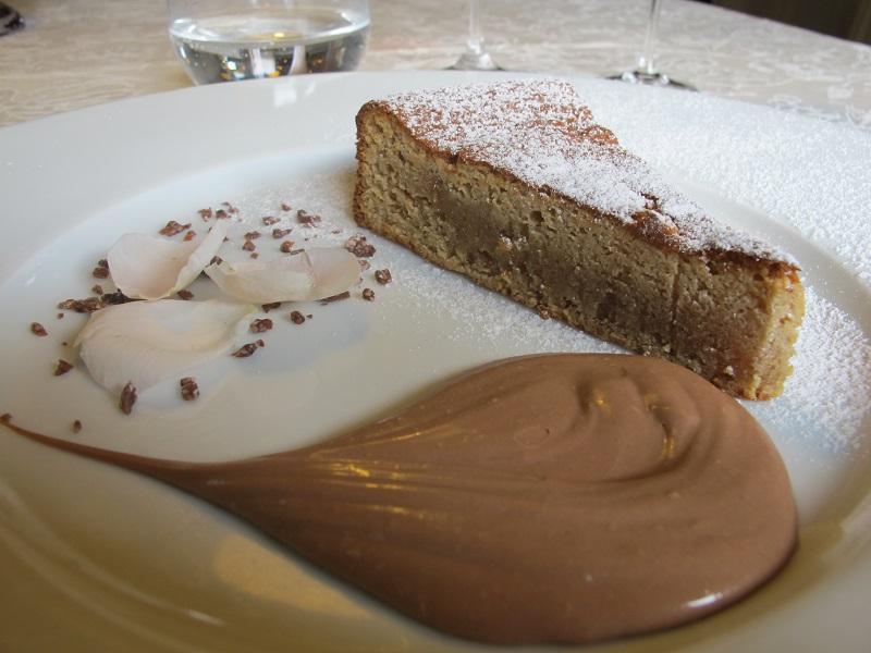torta di nocciole, Casin del Gamba, Chef Antonio Dal Lago, Altissimo, Vicenza