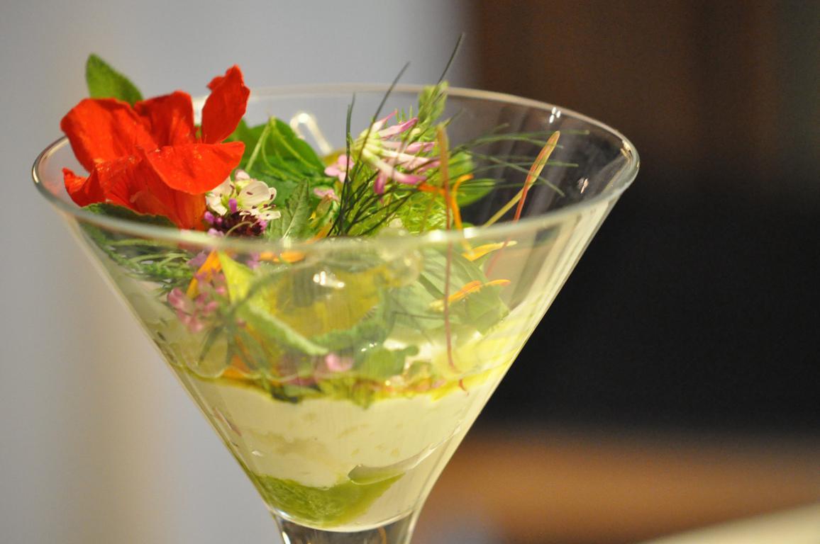 gelato di sarde, gelato di crescione, El Molin, Chef Alessandro Gilmozzi, Cavalese, Val di Fiemme