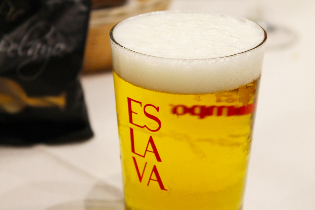 cerveza, Tapas Bar Eslava, Siviglia, Spagna