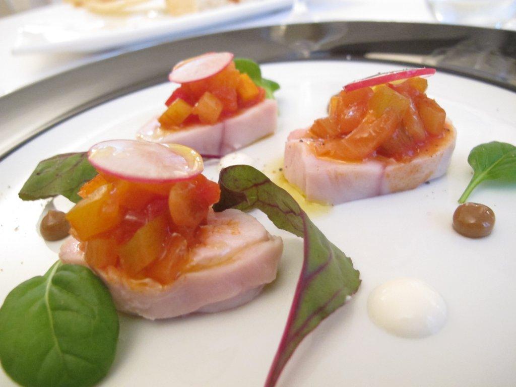 tonno di coniglio, La Fermata, Chef Riccardo Aiachini, Alessandria