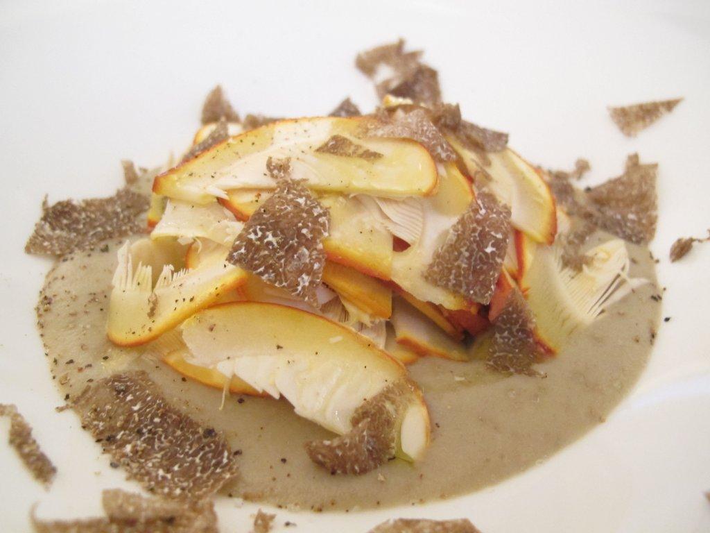 zuppa di ovoli, La Fermata, Chef Riccardo Aiachini, Alessandria