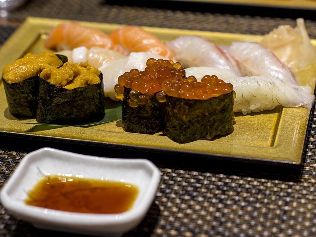 nigiri, Fukurou, Chef Ninomiya Yoshikazu, Milano