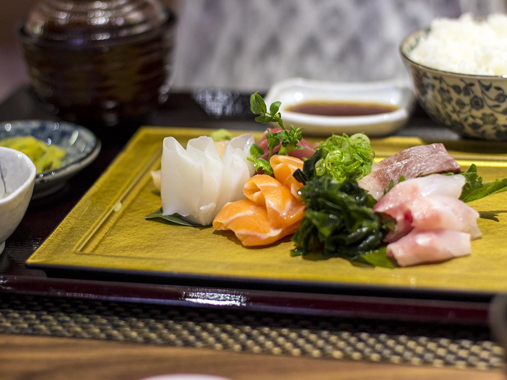 sashimi, Fukurou, Chef Ninomiya Yoshikazu, Milano
