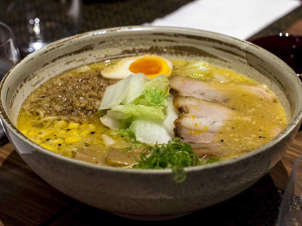ramen miso, Fukurou, Chef Ninomiya Yoshikazu, Milano
