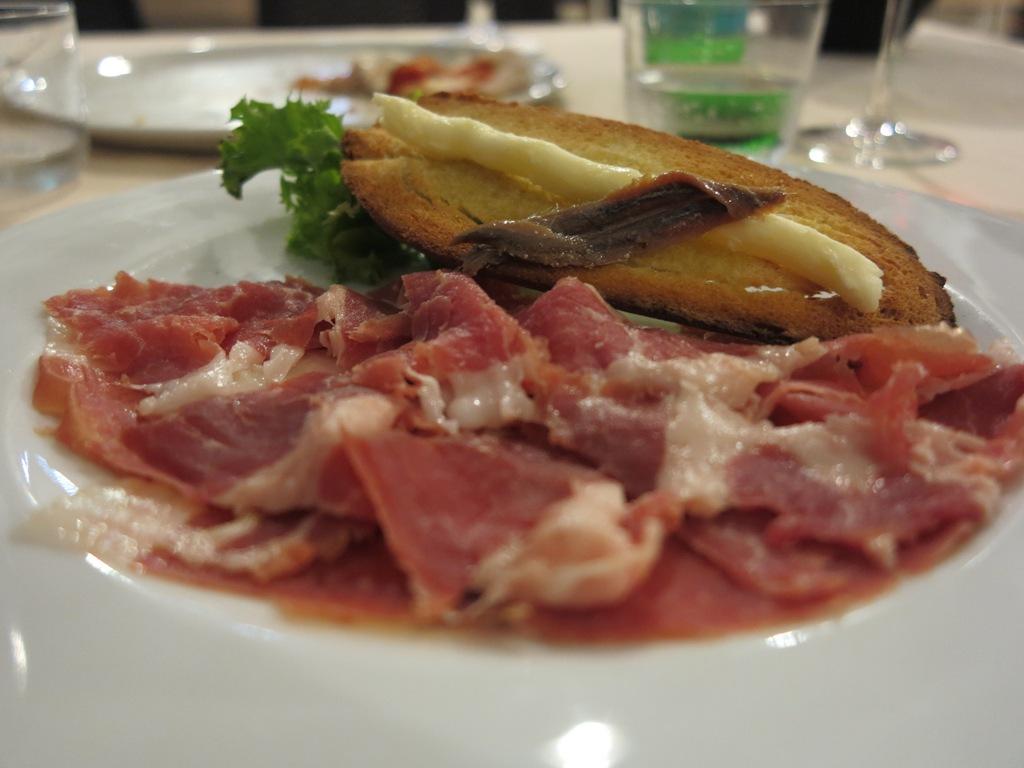 Prosciutto crudo friulano,, Masseria Petrino, Chef Michele Rotondo, Palagianello, Taranto