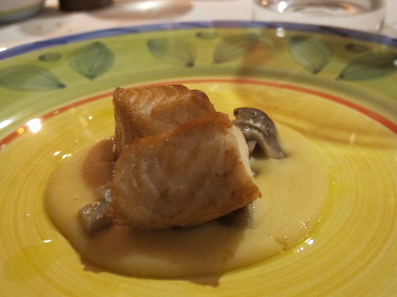 Ricciola, Oste Scuro, Chef Simone Lugoboni, Verona