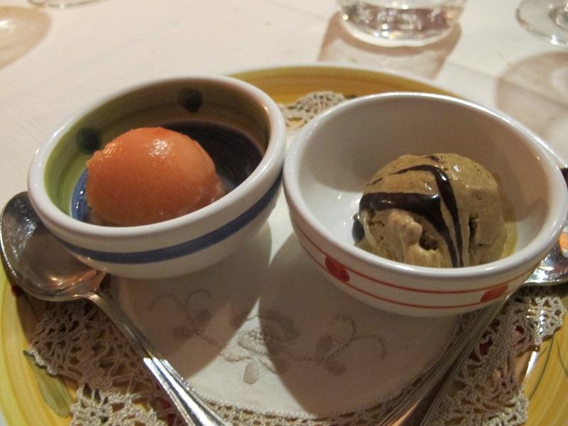 Sorbetti, Oste Scuro, Chef Simone Lugoboni, Verona