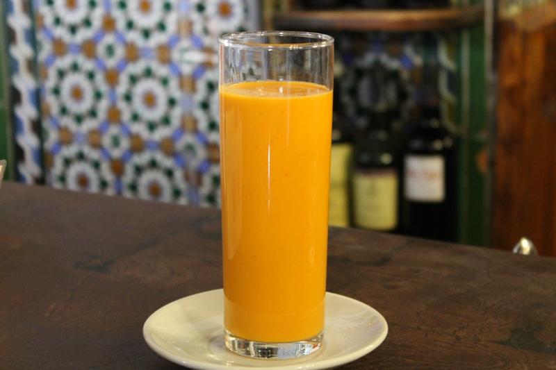 gazpacho, Tapas Bar El Rinconcillo, Sevilla