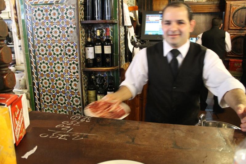 Tapas Bar El Rinconcillo, Sevilla