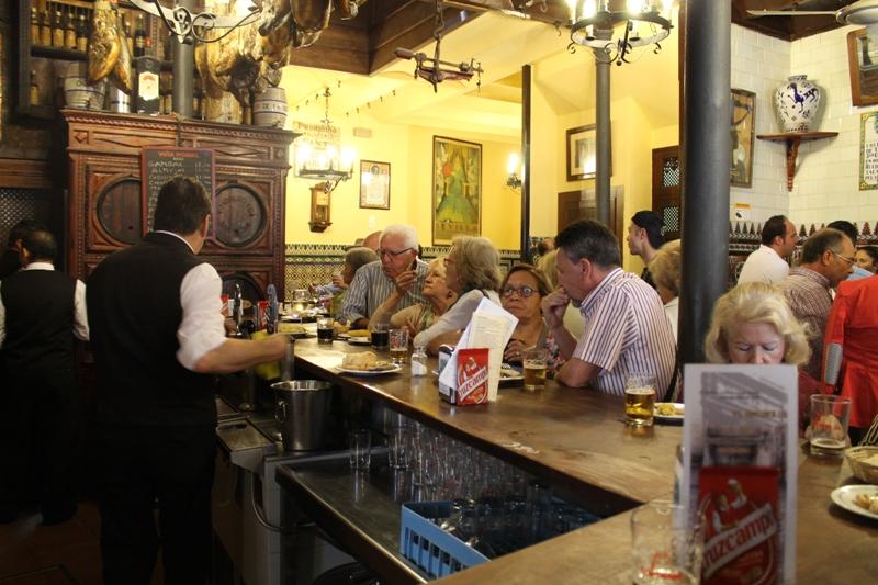 bancone, Tapas Bar El Rinconcillo, Sevilla