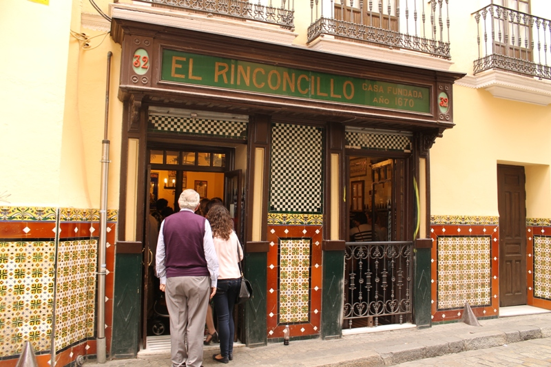 ingresso, Tapas Bar El Rinconcillo, Sevilla