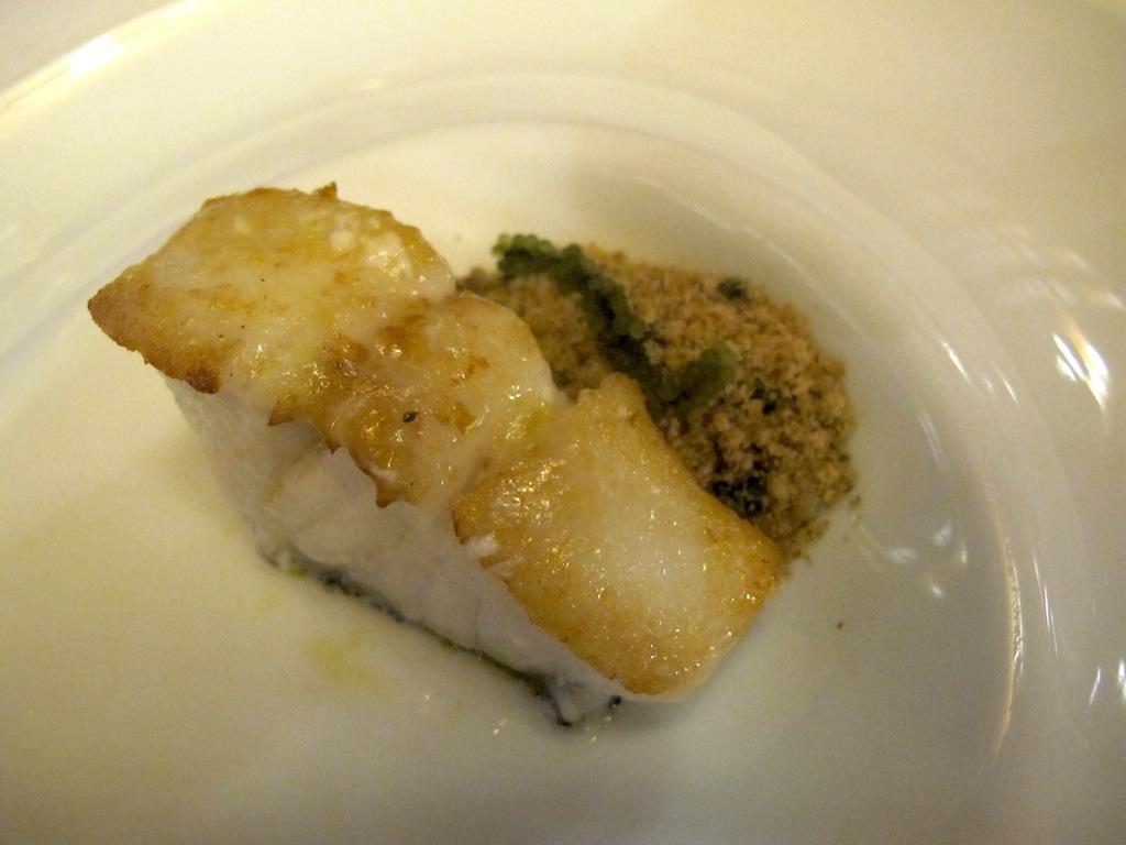 Cernia e cous cous, Akelarre, Chef Pedro Subijana, San Sebastián, Spagna