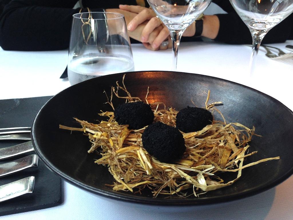 Patate al tartufo, Chalet de La Forêt, Chef Pascal Devalkeneer, Bruxlles, Belgium