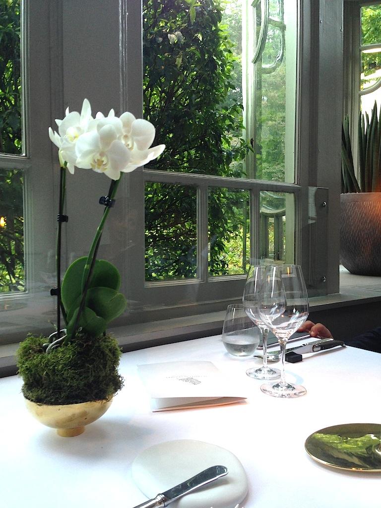 Il nostro tavolo, Chalet de La Forêt, Chef Pascal Devalkeneer, Bruxlles, Belgium