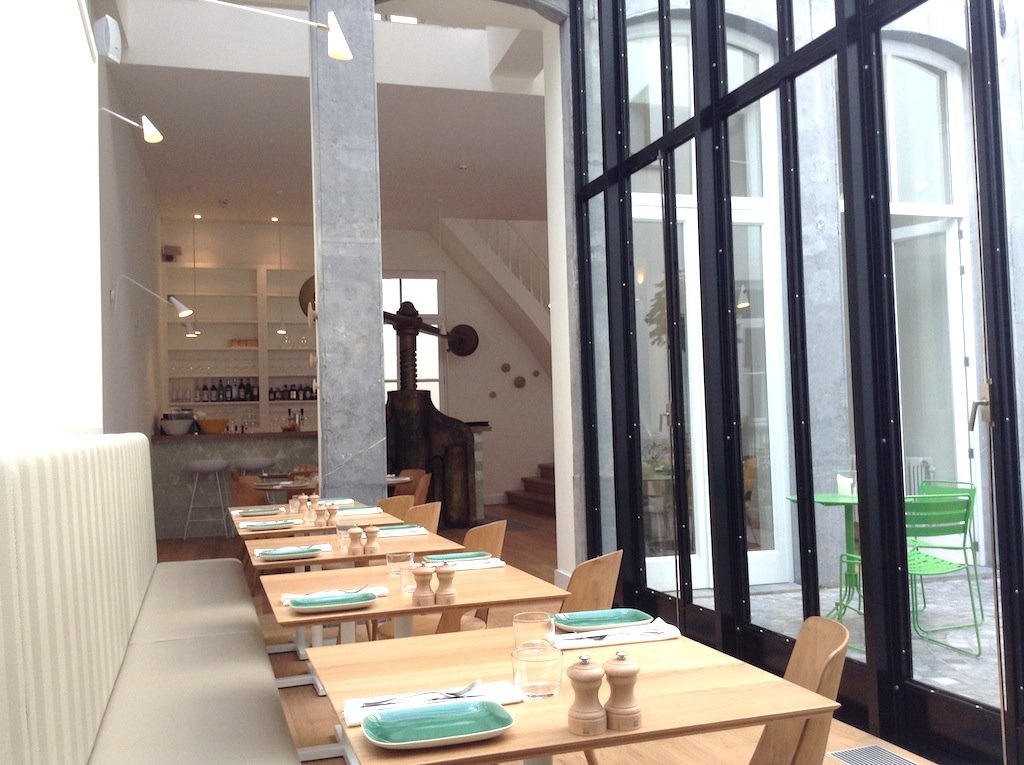 sala, Comptoir des Galeries, Chef Julien Burlat, Bruxelles