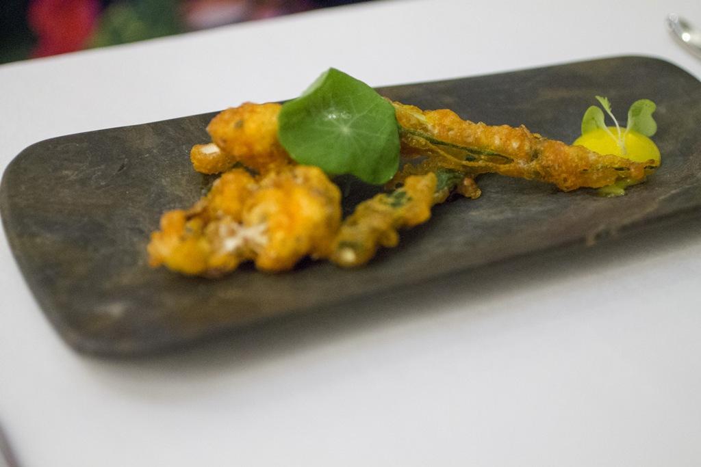 tempura vegetale, Gaggan, Chef Gaggan Anand, Lumpini, Bangkok