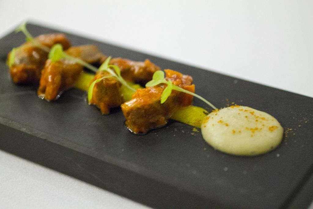 pancia di maiale, Gaggan, Chef Gaggan Anand, Lumpini, Bangkok