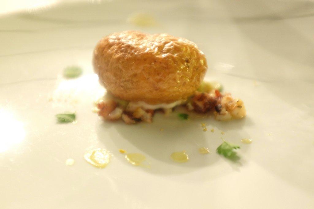 Patata e polipo, La gazza ladra, Chef David Tamburini, Modica, Ragusa