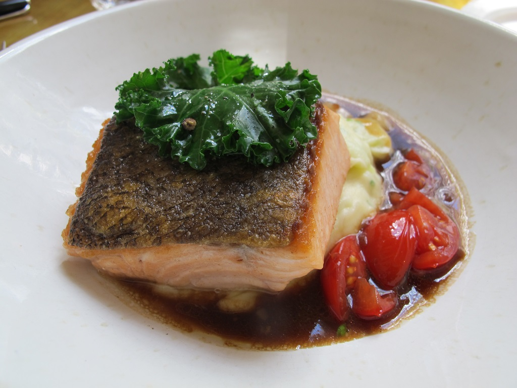 Salmone, Harwood Arms, Chef Anthony Hill, London