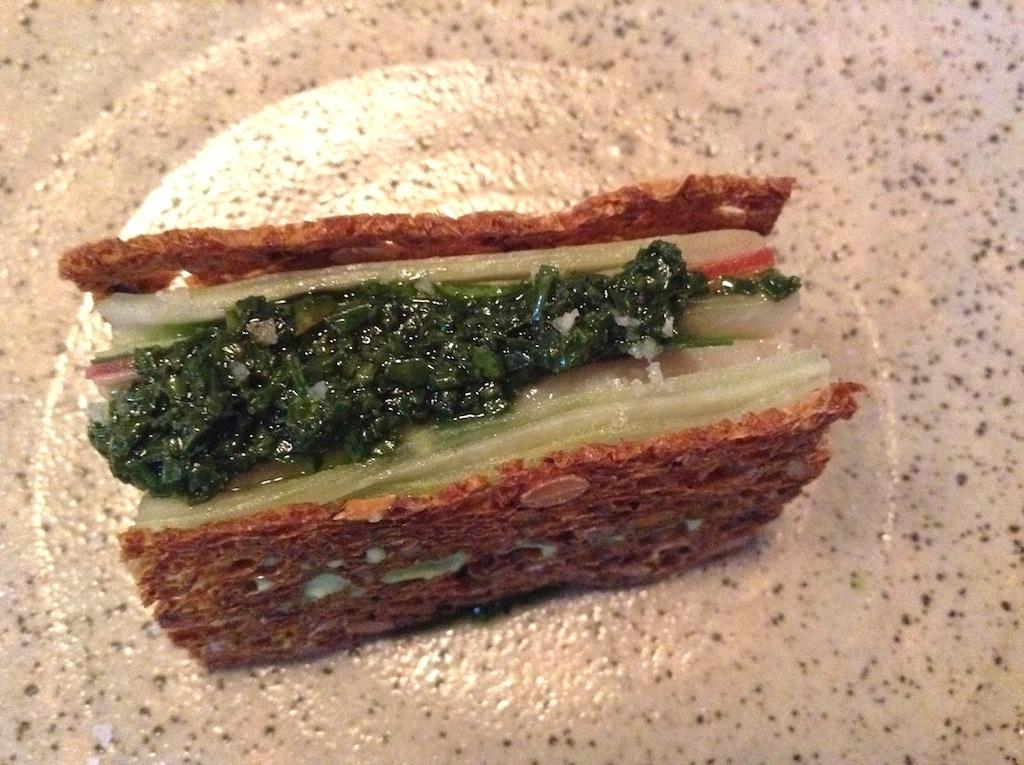 verdesca, sedano rapa, In De Wulf, Chef Kobe Desramaults, Heuvelland