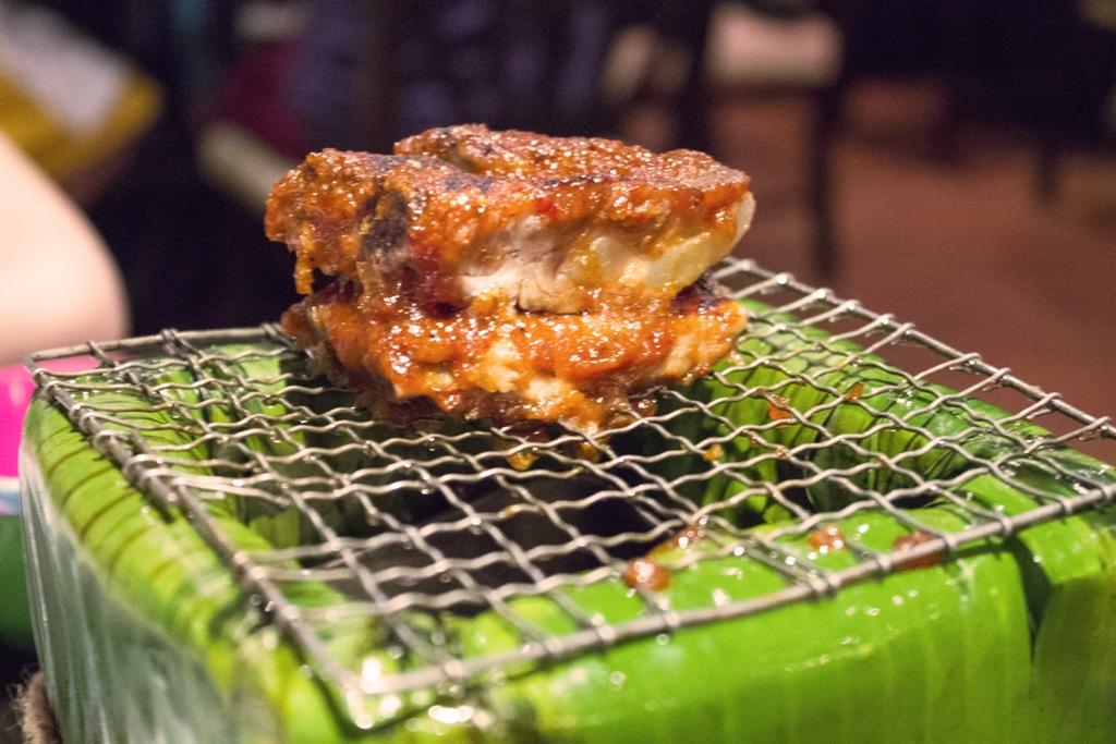 Kradook Moo, Issaya Siamese Club, Chef Ian Kittichai, Bangkok