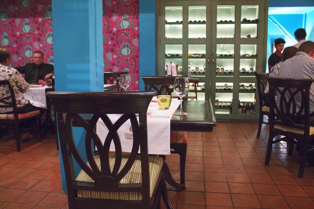 tavolo, Issaya Siamese Club, Chef Ian Kittichai, Bangkok