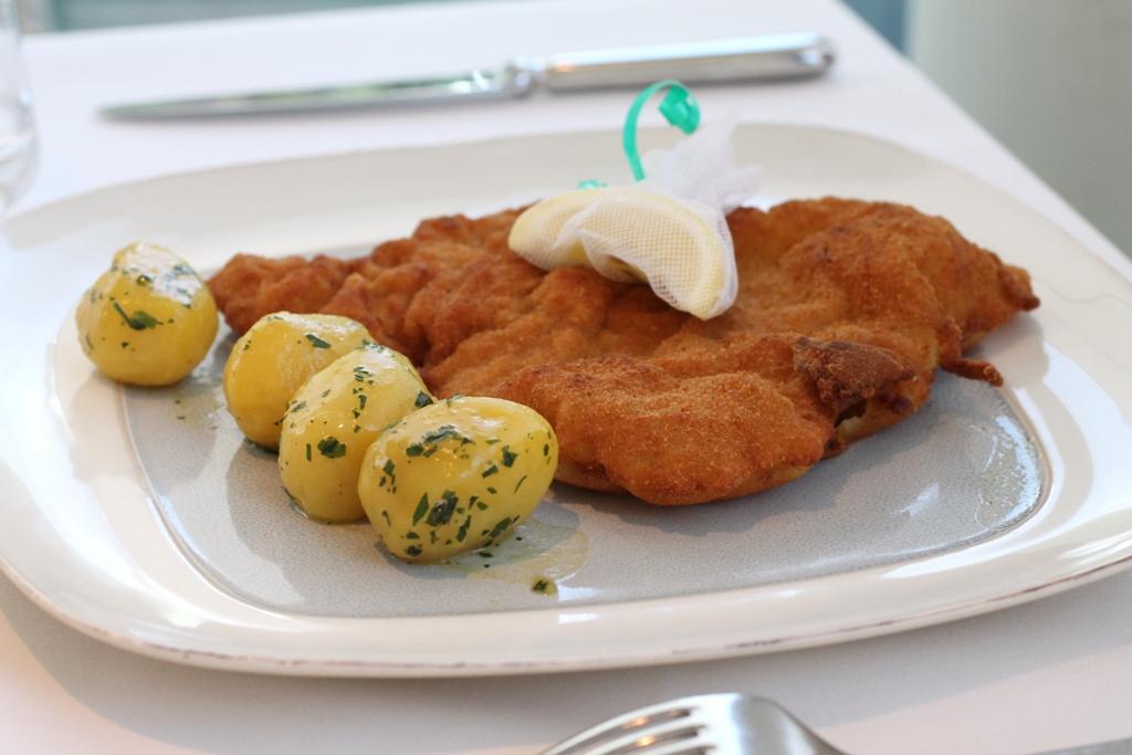wiener schnitzel, Meierei im Stadtpark, Chef Heinz Reitbauer, Wien