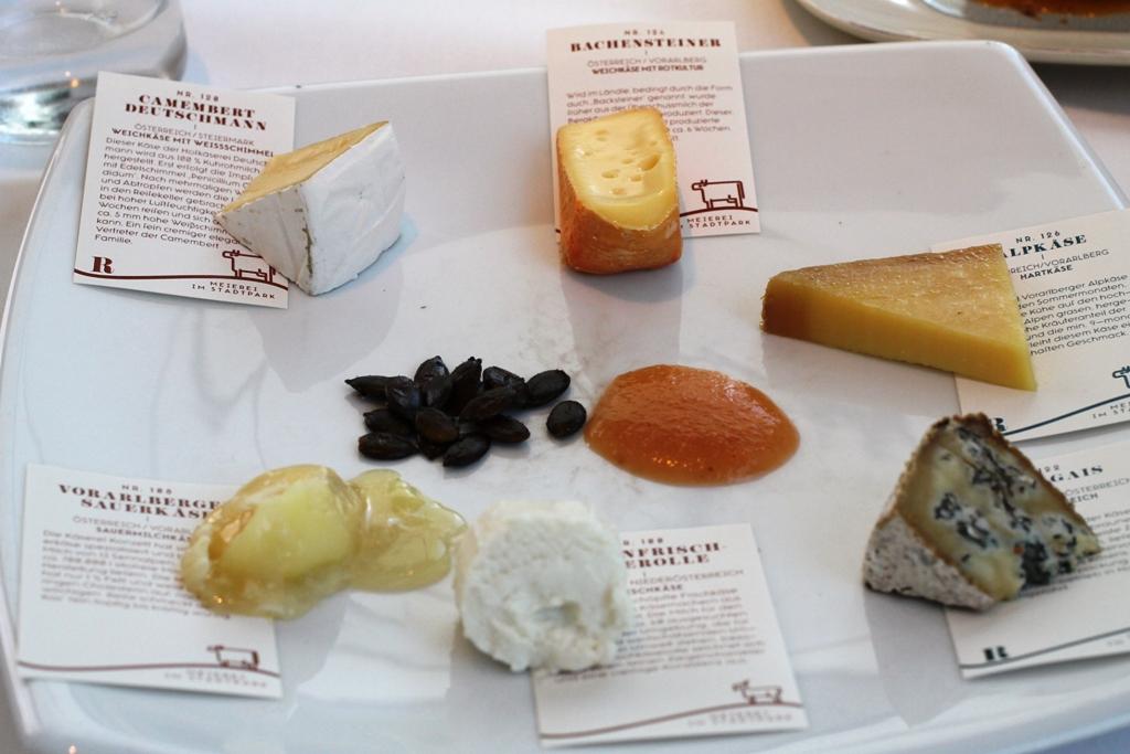 formaggi, Meierei im Stadtpark, Chef Heinz Reitbauer, Wien