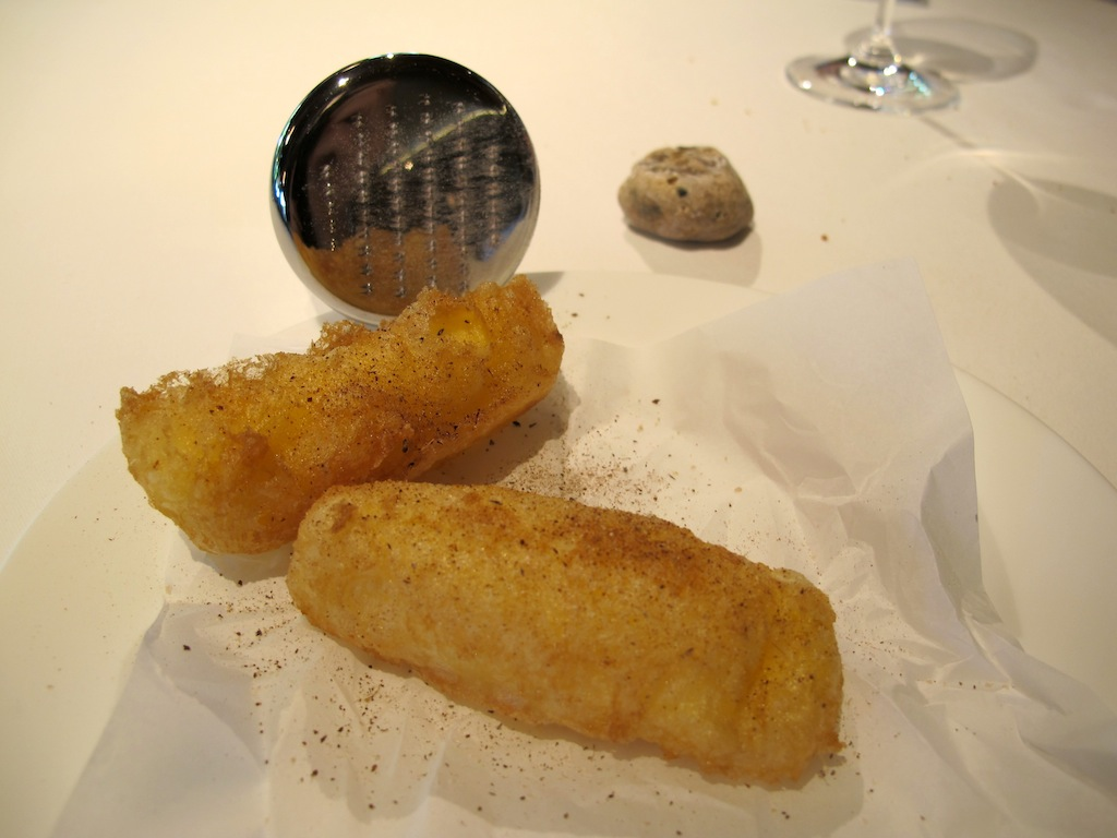 tempura, Mugaritz, Chef Andoni Luis Aduriz, Gipuzkoa, Spagna