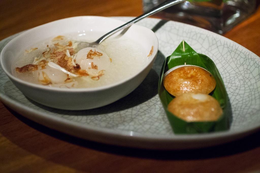 Dessert tradizionali, Metropolitan Hotel, Chef David Thompson, Bangkok, Thailand