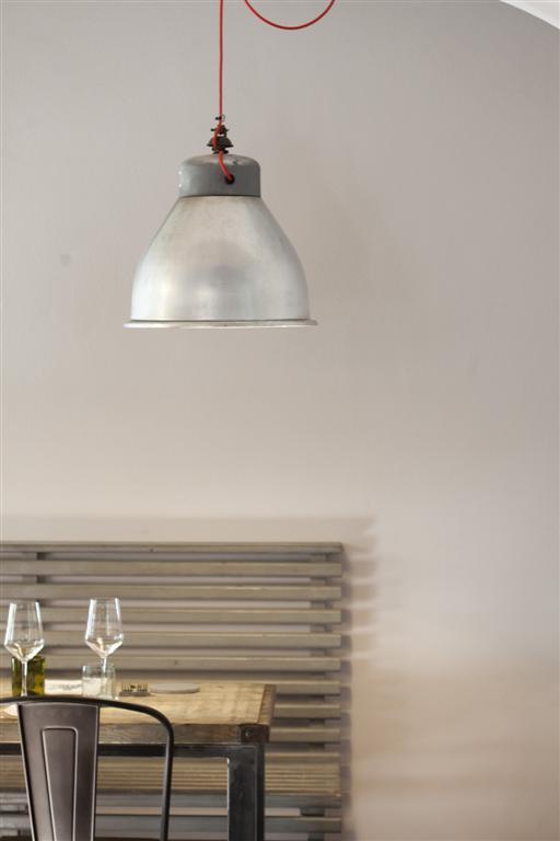 Dettagli sala, Punto officina del gusto, Chef Damiano Donati, Lucca