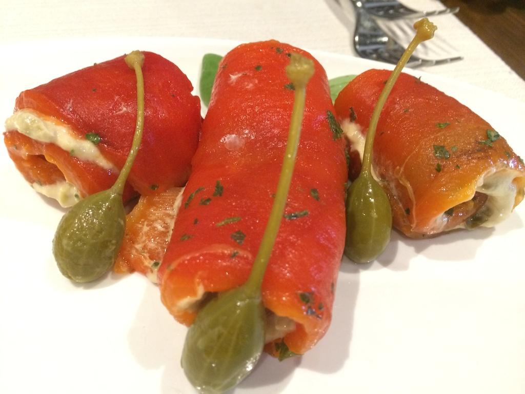 peoeroni in salsa tonnata, Rovello 18, Milano