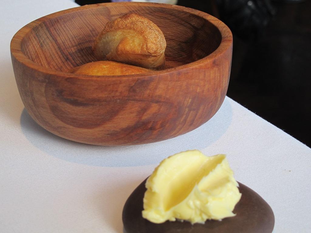 Pane e burro salato, Trinity, Chef Adam Byatt, Londra