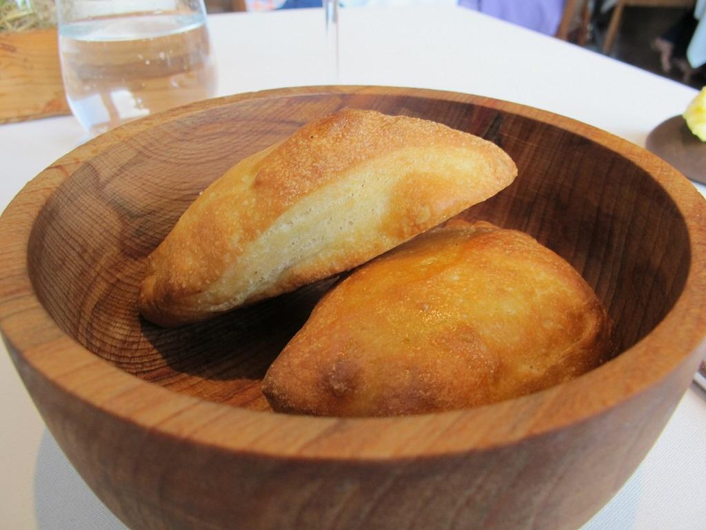 Pane e focaccia, Trinity, Chef Adam Byatt, Londra