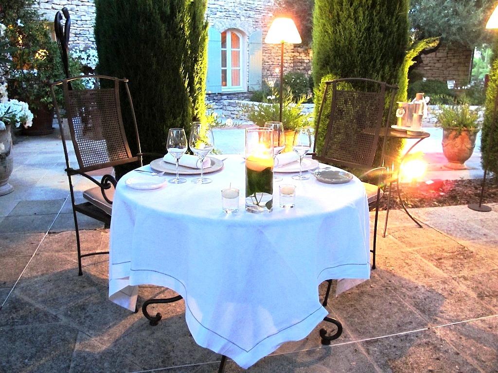 mise en place, Bastide de Capelongue, Chef Loubet, Bonnieux, Provenza