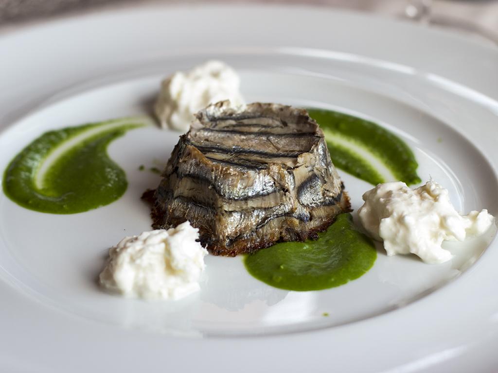 tortino di alici, Chef Gabriele Senesi, Azzate, Varese