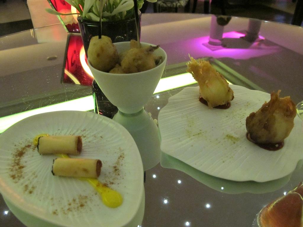appetizers, Imàgo, Chef Francesco Apreda, Roma, Hotel Hassler