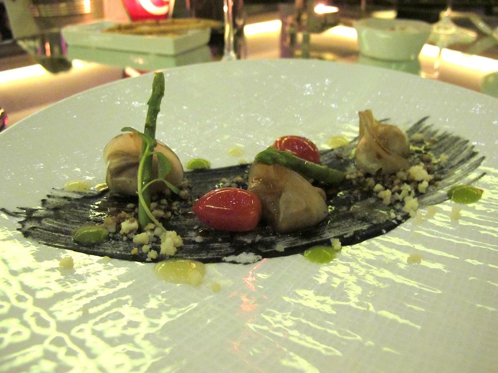 raviolo di coniglio,  Imàgo, Chef Francesco Apreda, Roma, Hotel Hassler
